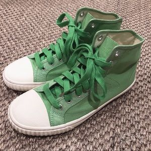 Vintage Retro Swedish Brand Tretorn Green sneakers